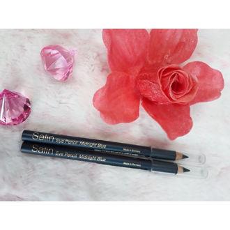 Hình ảnh củaChì Kẻ Mắt Xanh Satin Eye Pencil Midnight Blue (Hàng xách tay chính hãng)
