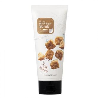 Hình ảnh củaThe Face Shop Smart Peeling Honey Black Sugar Scrub