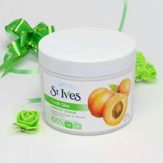 Hình ảnh củaKem tẩy tế bào chết dạng hũ ST.IVES Fresh Skin Apricot Scrub - Mỹ
