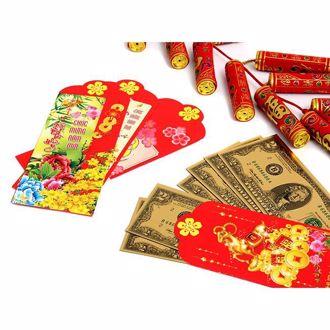 Hình ảnh củaTiền Đô La 2 USD Mạ Vàng 3D (2 Mặt) May Mắn