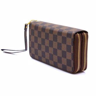Ví Da Cầm Tay  Louis Vuitton 2 Ngăn Khóa Kéo