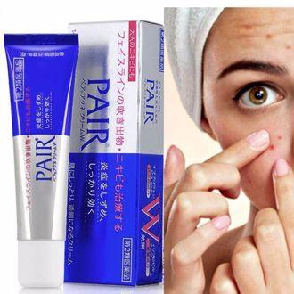Hình ảnh củaKem Trị Mụn Pair Acne Care Cream 24g (Xách Tay Nhật Bản)