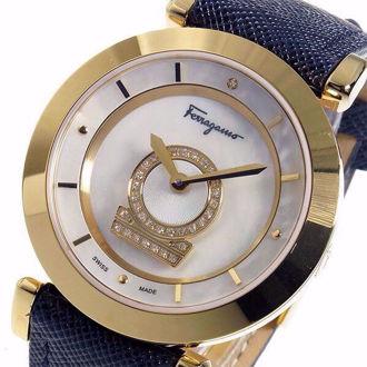 Đồng Hồ Nữ SALVATORE FERRAGAMO FQ4060013 Minuetto Diamond Watch 37mm (Xách Tay Chính Hãng)