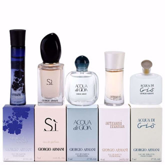 Bộ quà tặng nước hoa Giorgio Armani nữ  (5 chai)